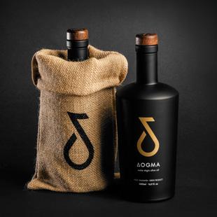 Dogma Gourmet - Kalamata extra virgin olive oil - Limited 500 ml - Packaging